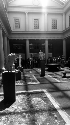 the met black and white